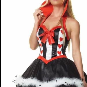 Sexy Queen of Hearts 🖤♥️Costume